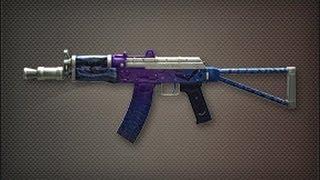 AKS-74U 紫血狂蝠