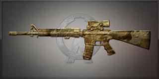 M16A4 D.Shadow 大漠行者
