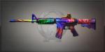M4A1 Neon 迷幻