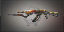 AK47 Gold Serpent 曙光明牙