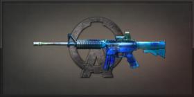 M4A1 Opal 藍艷藝術