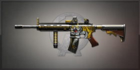HK416 Vicious Harimau 馬來亞虎