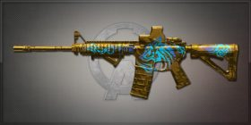 M4A1 Gold Dog 金色狂獒