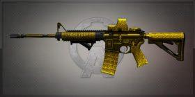 M4A1 Platina 亡命黑金