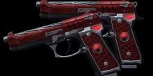 Beretta 92 紅蓮双武