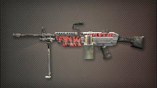 M249 Red Tiger