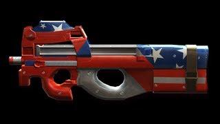 P90 美國隊長