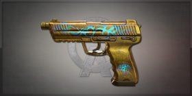 HK45 Gold Dog 金色狂獒